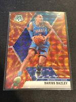 2019-20 Darius Bazley Panini Mosaic Orange Reactive #227 RC