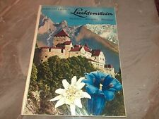 Baron Von Falz-Fein - Liechtenstein - 1967 HC SIGNED - Travel Book Tourism Photo