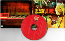 """K2R RIDDIM """"Live (CD Digipack) 1999"""