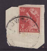 Tasmania POWRANNA postmark rated S by Hardinge
