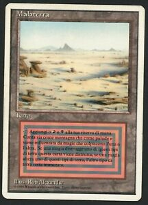 ***1x Italian Badlands*** MTG Revised -Kid Icarus-