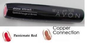 Avon Shine Attract Lipstick ~ Passionate Red