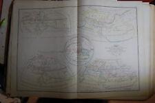 Cartes Delamarche 1854, en coul, Géographie primitive des Grecs, Homère hésiote