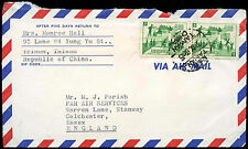 China 1969 Commercial Airmail Cover To UK #C33421
