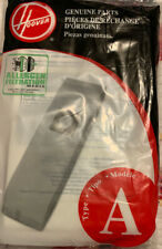 Hoover Type A Genuine Vacuum Bags Allergen Filtration 3 Pack Free Shipping