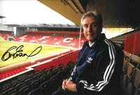 ROY EVANS FORMER LIVERPOOL MANAGER SIGNED 8 X 12 INCH PHOTO