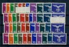 Norwegen 4 Sätze Dienstmarken 44-54 ** -Michel 100 Euro