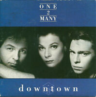 One 2 Many - Downtown CD SINGLE AUSTRIA IMPORT