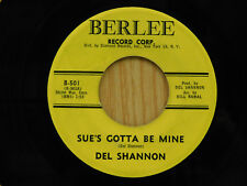 Del Shannon - Sue's Gotta Be Mine bw Now She's Gone 45 nice VG