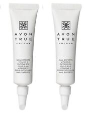 2 x AVON True Colour Nail Experts Vitamin E Cuticle Cream