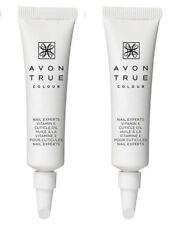 2 x Tubes AVON True Colour Nail Experts Vitamin E Cuticle Cream