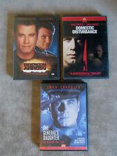 Broken Arrow Domestic Disturbance The General's Daughter John Travolta DVD Lot