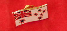 ROYAL AUSTRALIAN NAVY RAN FLAG LAPEL BADGE 25MM WIDE WITH ONE PIN RAN