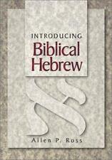 Introducing Biblical Hebrew by Allen P. Ross (2001, Hardcover)