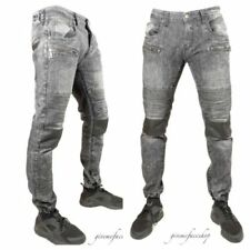 Herren-Jeans im Biker-Hosengröße W36