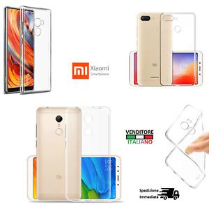 Cover custodia XIAOMI Mi A2/5X/6X/A1 TPU gomma flip silicone funda case 6 plus