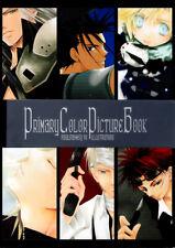 Final Fantasy 7 VII Doujinshi Color Illustrations Cloud Sephiroth Zack Primary C