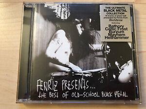 Fenriz Presents-The best of old-school BM CD Sarcofago Blasphemy Mayhem Bathory