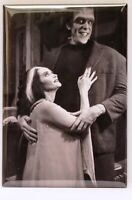 "Munsters MAGNET 2"" x 3"" Refrigerator Locker Vintage Photo Lily Herman Image 4"
