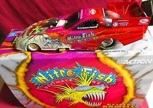 1/24 ACTION 2001 CAMARO FUNNY CAR, NITRO FISH, CRISTEN POWELL