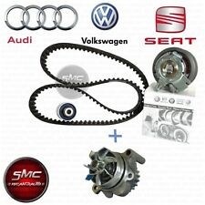 KIT DISTRIBUZIONE ORIGINALE VW + POMPA ACQUA GRAF AUDI A3 A4 GOLF V 2.0 TDI 140