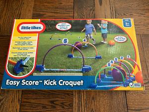 Little Tikes Easy Score Kick Croquet Brand New