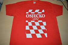 Croatia Soccer Team T-Shirt Check Red White Jersey Shirt World Cup 2018 Vida 3XL