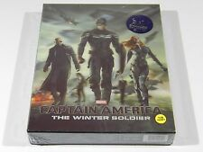 Captain America The Winter Soldier (3D+2D) Blu-ray Steelbook KimchiDVD #300/1500