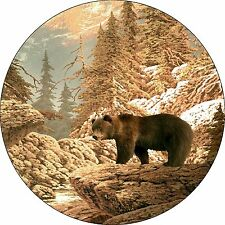 Bear #2 Grizzly Spare Tire Cover Wheel Cover Jeep Rv Camper(all sizes available)