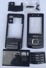 NEW FULL NOKIA 6500S ( SLIDE)  HOUSING FASCIA COVER BLACK WITH KEYPAD CHASSIS