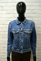 Giacca Giubbino Blu in Jeans REPLAY Taglia Size M Giubbotto Veste Jacket Woman