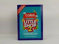 Coles Little Shop 2 Collectibles With Case (incomplete)