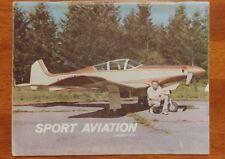 Sport Aviation Magazine January 1976 EAA Geoff Siers' spectacular new Barracuda