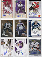Goalie Autograph Auto Signature Numbered Cards - Choose From List - NHL Hockey