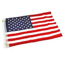 "Economy U.S. Flag Nylon 12"" x 18"" Boat American United States 12x18 US"