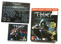 Thief The Dark Project 1998 PC game Disc Manual Card & Official Strategy Guide
