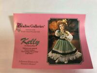 "Paradise Galleries 14"" Porcelain Doll Treasury Collection Premier Edition Kelly"
