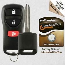 Car Transmitter Alarm Remote Control for 2002 2003 2004 Nissan Xterra Key