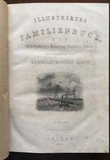 Illustriertes Familienbuch Belehrung häusl. Kreise. Oesterreichische Lloyd. 1855
