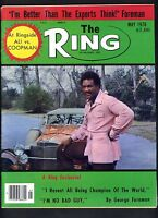 THE RING BOXING MAGAZINE MAY 1976 GEORGE FOREMAN