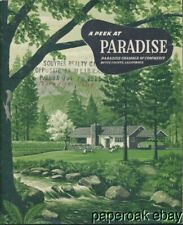 1950's Paradise, Butte County, California Promotional Brochure