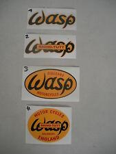 Wasp Gespann Sidecar Motocross Aufkleber  , klein , div zur Auswahl