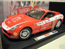 FERRARI 599 GTB FIORANO rouge PANAMERICAN ELITE au 1/18  HOT WHEELS 7117 voiture