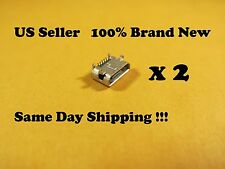 "2 xMicro USB Charging Port Connector For Asus Transformer Pad TF103C 10.1""Tablet"