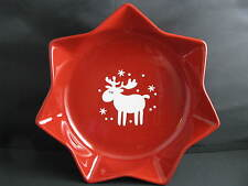 Red Willie &Emma Star Shaped Bowl Waechtersbach Fun Factory Germany NEW