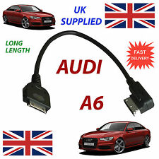 AUDI A6 AMI MMI 4F0051510K (long length) iPhone iPod Cable replacment