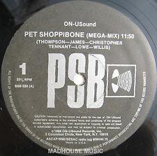 "PET SHOP BOYS 12"" ON-U-SOUND Megamix 11:50 Pet Shoppibone / Device REMIX MEGAMIX"