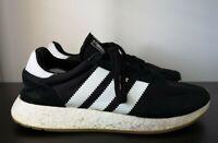 Mens Adidas I-5923 Black Trainers VGC - UK 12