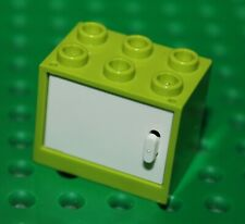 LEGO 20 X des clôtures clôture grille 1x4x2 en rouge 3185 Town ville City