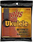 GHS Strings Ukulele Set H-T10 (Hawaiian Tenor Black Nylon/Aluminum) for sale